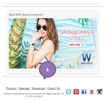 Eradium agile ecommerce email marketing weekly spotlight 5 right time watchit 2