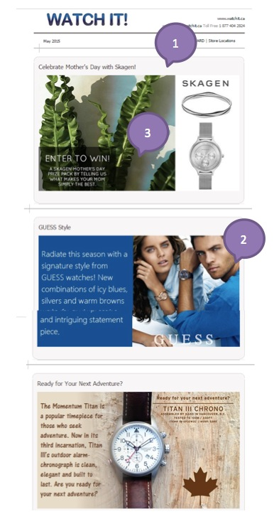 Eradium agile ecommerce email marketing weekly spotlight 5 right time watchit