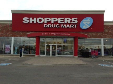 Eradium recommender system-blog shoppers drug mart entrance