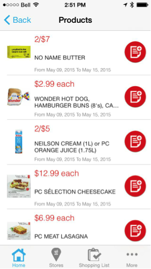 Eradium recommender system-blog-shoppers-drug mart mobile app flyer