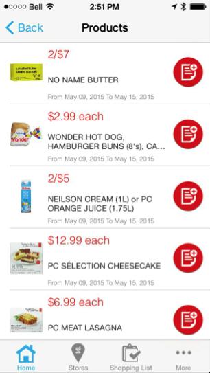 Eradium recommender system-blog-shoppers-drug mart mobile app flyer
