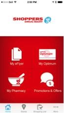 Eradium recommender system-blog-shoppers-drug mart mobile app home