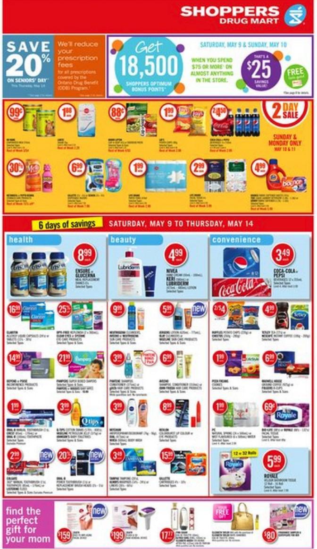 Eradium recommender system-blog-shoppers-drug mart mobile printed flyer