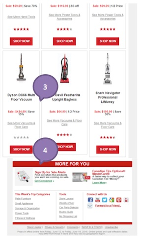 Eradium ecommerce email campaign blog 11 fathers day Canadian tire-2