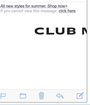 Eradium ecommerce email marketing blog 10 newsletter newspaper shoppers club monaco -mobile
