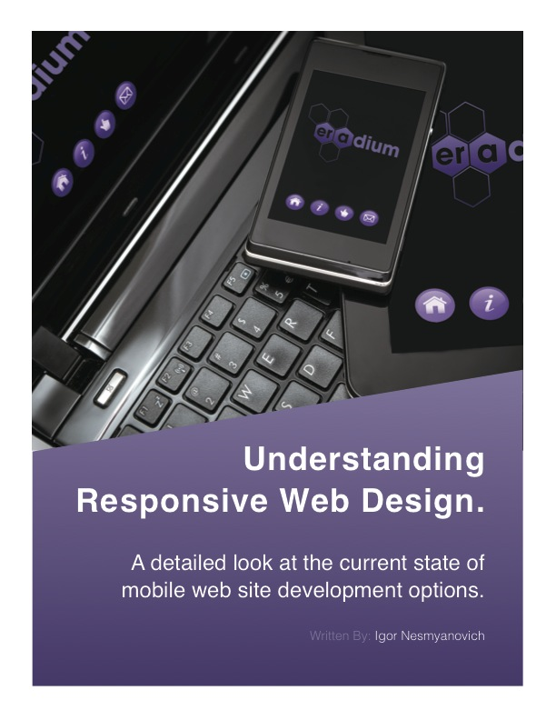 Understanding Responsive-Web Design for Moile Commerce Eradium cover