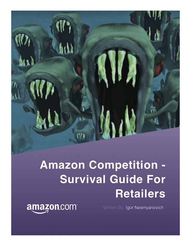 Amazon Competion Survival Guide for Retailers Eradium Cover
