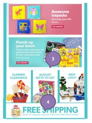 Eradium back-to-school email marketing Mastermind Toys