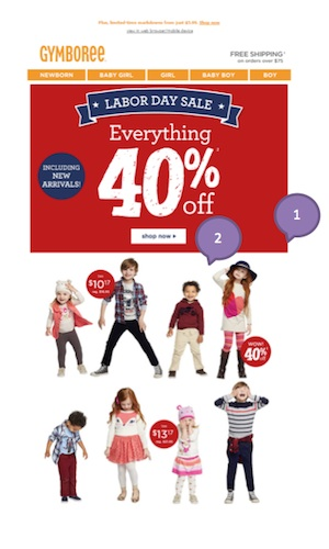 Eradium weather marketing Gymboree 1