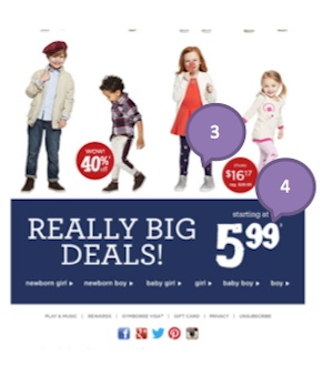 Eradium weather marketing Gymboree 2