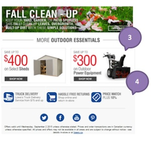 Eradium weather marketing Lowes 2