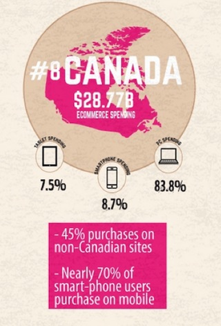 Eradium ecommerce review well.ca canada ecommerce spending