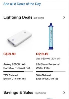 Eradium Amazon at christmas blog lightning deal2
