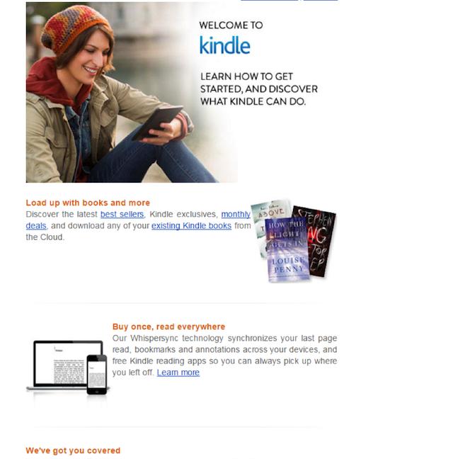 Eradium Amazon at christmas blog - product email