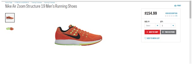 Eradium ecommerce review Sportchek price compare running shoes sportchek
