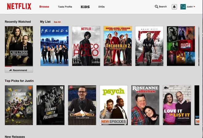 Eradium omnichannel Netflix