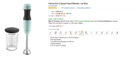 Eradium theBay review Amazon price blender