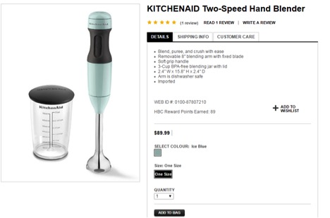 Eradium theBay review Bay price blender