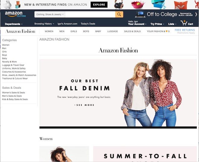 Eradium omnichannel glossary curated commerce amazon fashion
