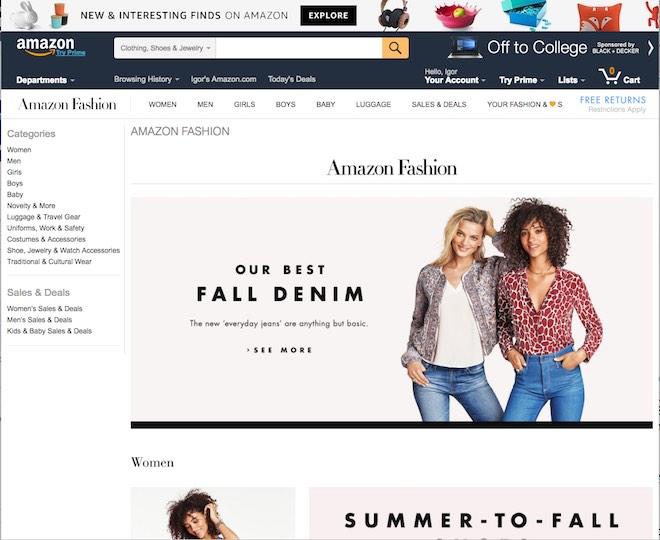 Eradium omnichannel glossary curated commerce amazon fashion