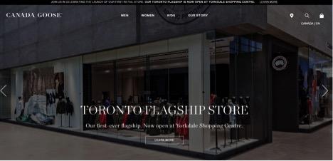 Eradium Blog Top 5 Canadian Fashion Brands Canada Goose