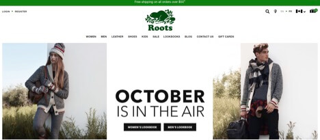 Eradium Blog Top 5 Canadian Fashion Brands Roots