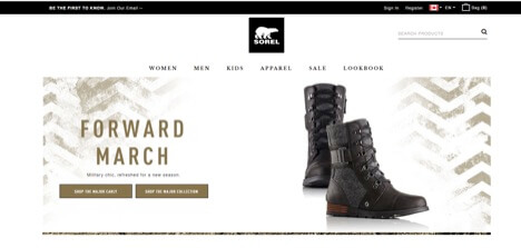 Eradium Blog Top 5 Canadian Fashion Brands Sorel