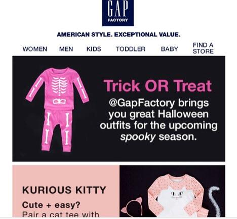 Eradium Halloween Blog Gap