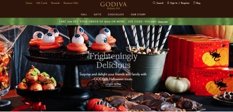 Eradium Halloween Blog Godiva