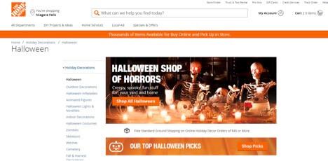 Eradium Halloween Blog Home Depot