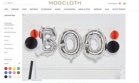 Eradium Halloween Blog Modcloth