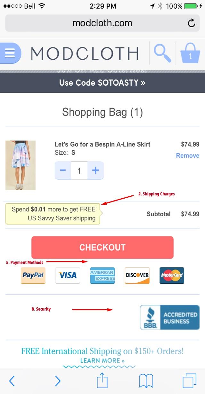Eradium shopping cart blog modcloth