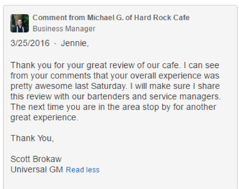 eradium blog customer service hard rock cafe