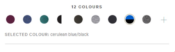 Eradium fashion and ecommerce color swatches lululemon