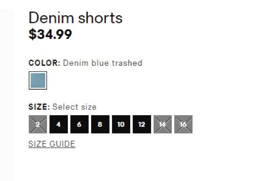 Eradium fashion and ecommerce selection H&M