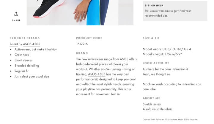 asos-product-description