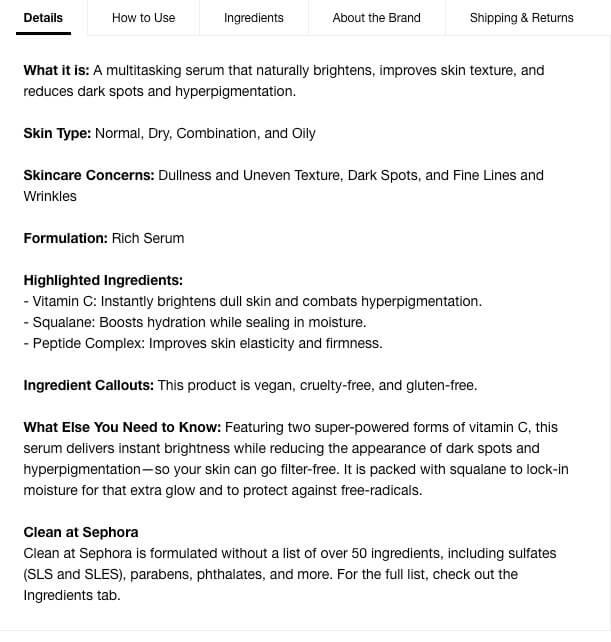 sephora-serum-product-description